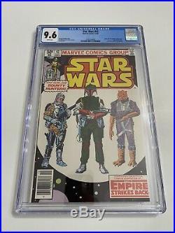 Star Wars #42 / CGC 9.6 White Newsstand / First Boba Fett