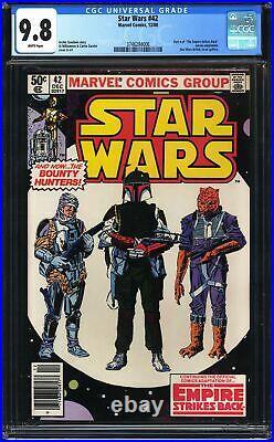 Star Wars 42 CGC 9.8