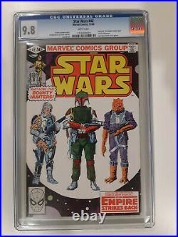 Star Wars 42 CGC 9.8 1st Boba Fett & 2nd Yoda Mandalorian Disney+ HOT KEY