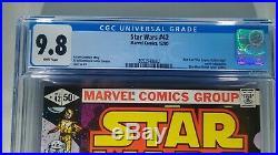 Star Wars #42 CGC 9.8 WP! 1st App Boba Fett. Disney+ Mandalorian