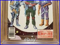 Star Wars #42 Cgc 9.0 (vf/nm) Newsstand 1st Boba Fett & 1st Yoda Appearance 1980