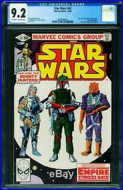 Star Wars #42 Cgc 9.2 Boba Fett 1980 2006596004