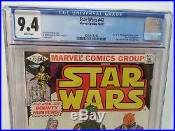 Star Wars #42 Cgc 9.4 Nm 1st Appearance Of Boba Fett Marvel Comics Key 1980 42