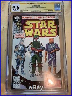 Star Wars #42 Cgc 9.6 Ss Marvel Comics 1980 1st Appearance Of Boba Fett Emperor