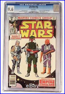 Star Wars #42 Cgc 9.6 (first Appearance Of Boba Fett)