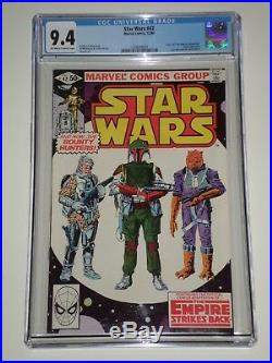Star Wars #42 (Dec 1980, Marvel) CGC 9.4 1st Boba Fett Appearance