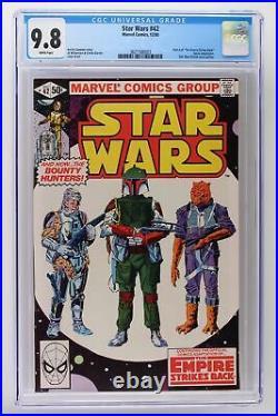Star Wars #42 Marvel 1980 CGC 9.8 Part 4 Empire Strikes Back! HIGHEST GRADE