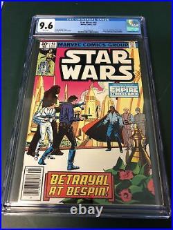 Star Wars #43 (1981) CGC 9.6 NEWSSTAND 1st Lando 2nd Boba Fett WOW