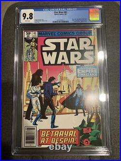 Star Wars #43 (1981) CGC 9.8 NM/M First Lando Calrissian Newsstand Edition