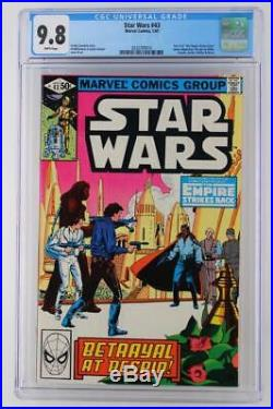 Star Wars #43 -NEAR MINT- CGC 9.8 NM/MT Marvel 1981 Part 5 of Empire