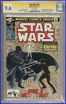 Star Wars #44 1981 CGC 9.6 Signed by David Prowse (Darth Vader)