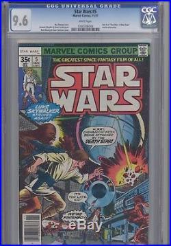 Star Wars #5 CGC 9.6 1977 Marvel Comic Movie Adapt #1300336006 Price Drop