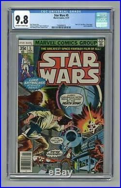 Star Wars #5 CGC 9.8 1977 1568494015