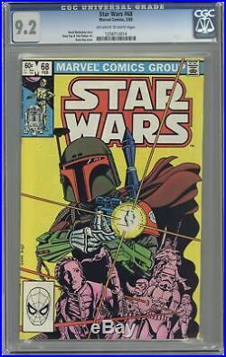 Star Wars #68 CGC 9.2 1983 1258713014