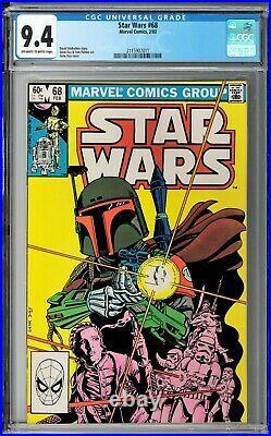Star Wars #68 CGC 9.4 (Feb 1983, Marvel) David Michelinie story, 1st Mandalorian