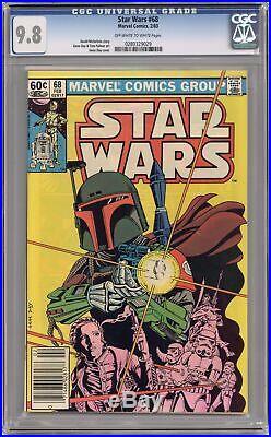 Star Wars #68 CGC 9.8 1983 0280329029