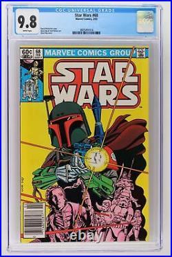 Star Wars #68 Marvel 1983 CGC 9.8 Newsstand Highest Grade