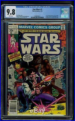 Star Wars #7 (1978) CGC Graded 9.8 Howard Chaykin Art Gil Kane Cover
