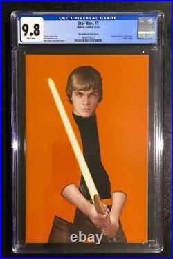 Star Wars 7 John Tyler Christopher Luke Skywalker Negative Space Variant Cgc 9.8