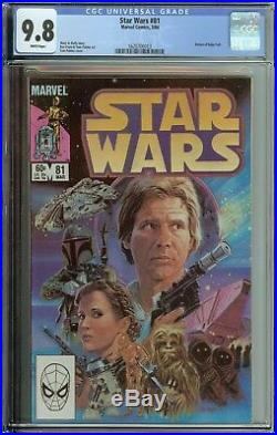 Star Wars #81 Cgc 9.8 Return Of Boba Fett