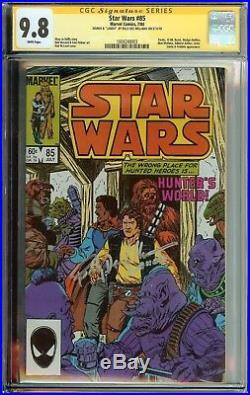 Star Wars #85 Ss Cgc 9.8 Signed Billy Dee Williams Lando Auto