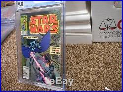 Star Wars 88 cgc 9.8 1st appearance of Lumiya NEWSSTAND variant Marvel 1984 MINT