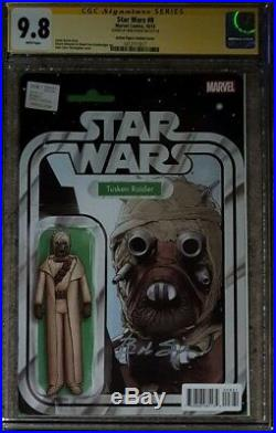 Star Wars #8 Tusker Raider Action Figure variant CGC 9.8 SS Signed by Bob Spiker