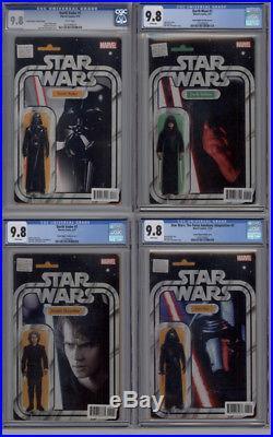 Star Wars Action Figure Variant 45 Book Lot ALL CGC 9.8 John Tyler Christopher