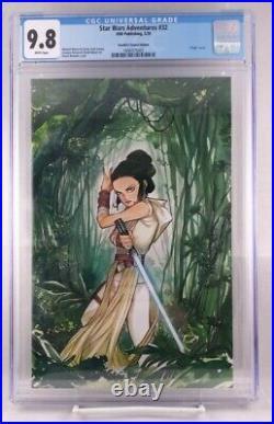 Star Wars Adventures #32 Cgc 9.8 Rey Skywalker Peach Momoko Virgin Variant Cover