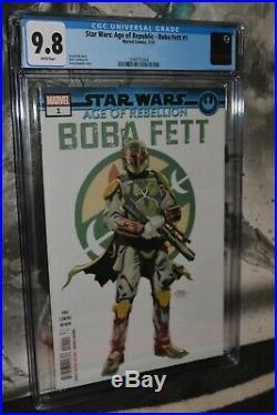 Star Wars Age of Republic Boba Fett#1 CGC 9.8 1st Print Hot Book