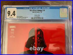 Star Wars Annual #4 CGC 9.4 John Tyler Christopher Variant Super Rare! Gorgeous