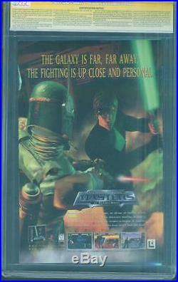 Star Wars Boba Fett Wizard 1/2 CGC 9.8 SS Tim Bradstreet Force Awakens Top 1