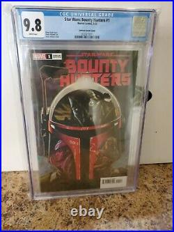 Star Wars Bounty Hunters #1 Cgc 9.8 150 Johnson Variant Nm/m Marvel Comics 2019