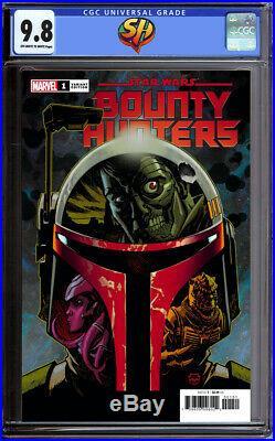 Star Wars Bounty Hunters 1 Dave Johnson Variant CGC 9.8 Fast Track 3/11 Marvel