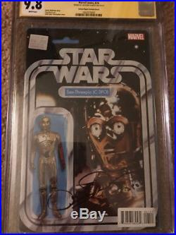 Star Wars C-3PO #1 JTC (Red Arm) Action Variant CGC SS 9.8 Anthony Daniels