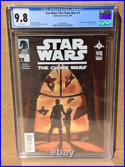 Star Wars Clone Wars 1 CGC 9.8 1st Ahsoka Tano 3754944002
