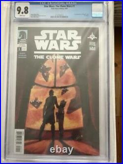 Star Wars Clone Wars 1 CGC 9.8 1st Ahsoka Tano & Captain Rex, MAJOR KEY