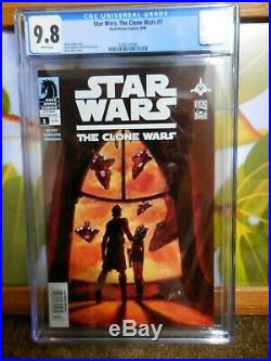 Star Wars Clone Wars #1 Cgc 9.8 First Appearance Of Ahsoka Tano