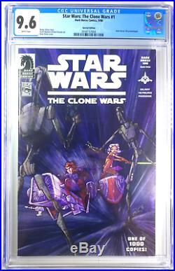 Star Wars Clone Wars #1 DH100 Variant CGC 9.6 NM+ Dark Horse Comics