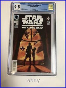 Star Wars Clone Wars (2008) # 1 (CGC 9.8 White) 1st Ahsoka Tano Captain Rex
