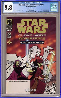 Star Wars Clone Wars Adventures FCBD 2004 CGC 9.8 3763730009