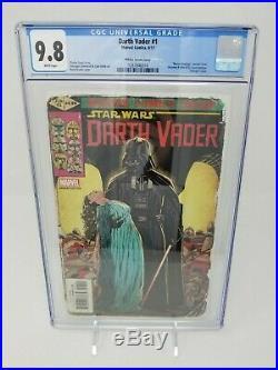 Star Wars DARTH VADER #1 Homage Variant By Mark Brooks CGC 9.8 Marvel NM+ MT