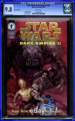 Star Wars Dark Empire II Gold Foil 1 6 CGC 9.8 SS Baker, Mayhew, Bulloch