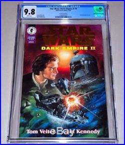 Star Wars Dark Empire II Gold Variant 4 CGC 9.8 White Pages Boba Fett