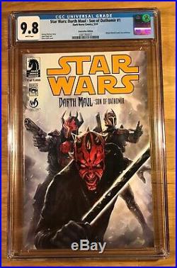Star Wars Darth Maul Son of Dathomir #1, Wizard World Edition, CGC 9.8 NM/MT