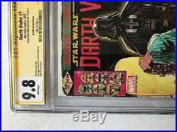 Star Wars Darth Vader #1 150 Cgc Ss 9.8 Signed Mark Brooks X-men #143 Homage