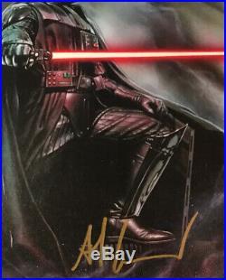 Star Wars Darth Vader 1, (2015), CGC 9.8 SS, signed by Granov, NM/MT