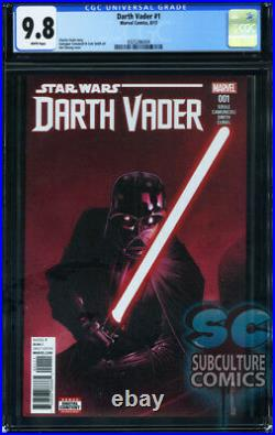 Star Wars Darth Vader #1 First Print Cgc 9.8 Sold Out First Issue