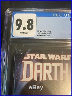 Star Wars Darth Vader #3A 1st Printing CGC 9.8 20151st Dr Aphra