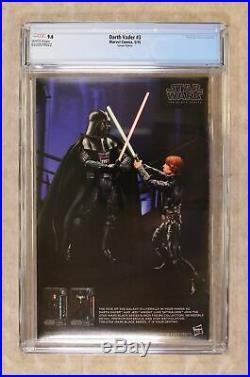 Star Wars Darth Vader #3B Larroca 125 Variant 1st Printing CGC 9.6 2015